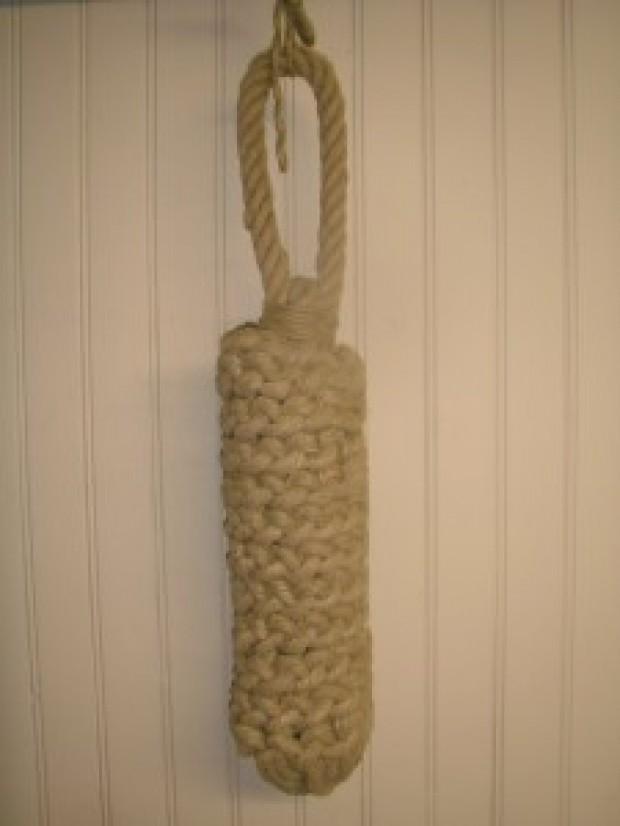 Fabriquer un pare battage en corde